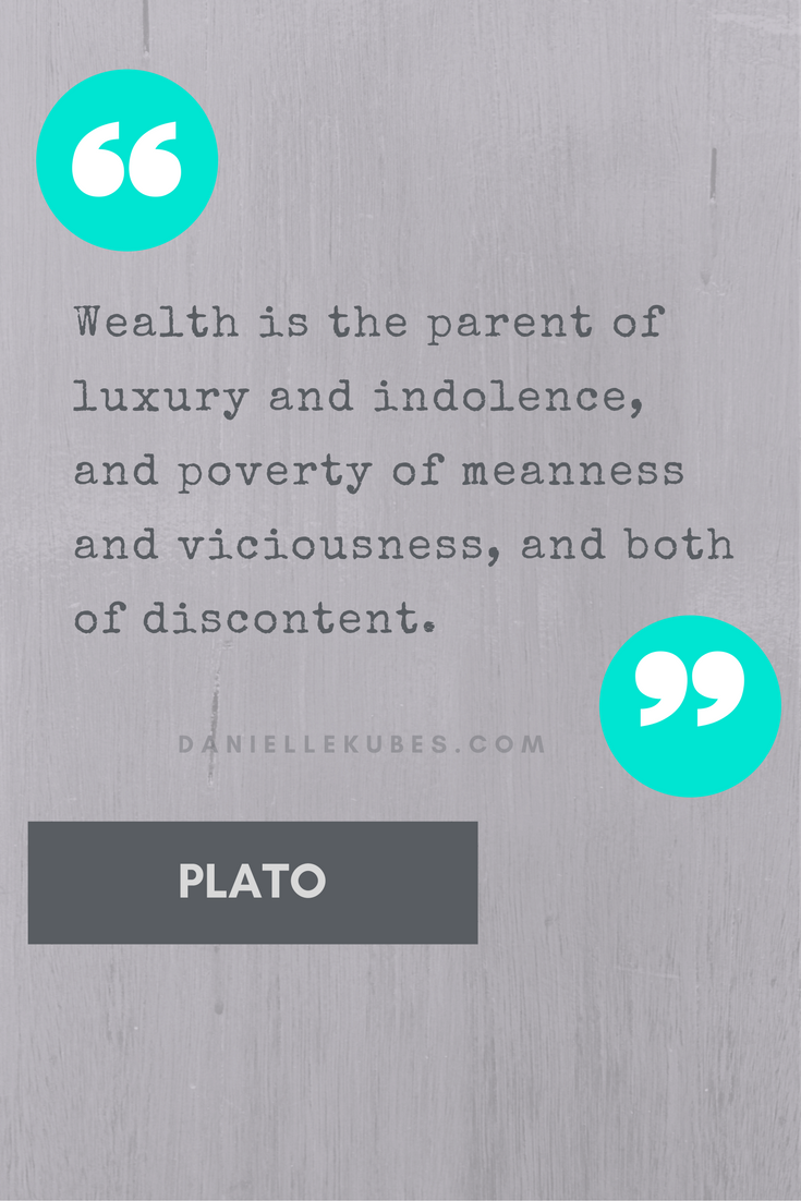 Plato on money